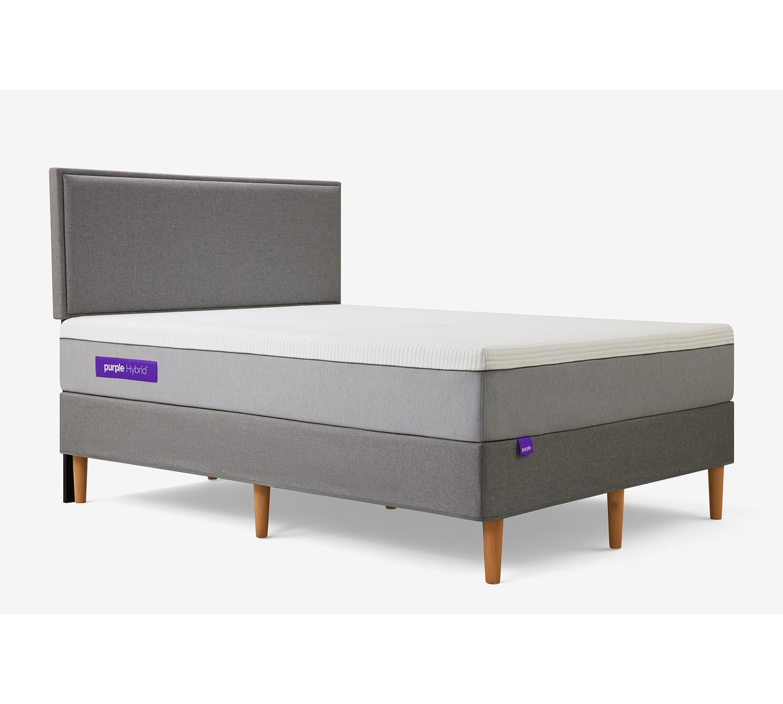 "The scientifically comfortable mattress that broke the internet just got an upgrade. Perfect for sleepers who like their mattress a little on the firm side, yet oh-so-comfy. Get the ""soft where you want it and firm where you need it"" support you've come to expect from Purple. The Purple .2 mattress uses Purple's patented Smart Comfort Grid™, a unique 2-inch top layer that dynamically adapts to the human body and stays cool for superior, personalized comfort and better sleep. Additionally, Purple has added a new base layer comprised of individually wrapped responsive-support coils that further enhance the overall comfort, responsiveness, and durability of the mattress. No matter how weird you sleep, this new-school classic has your back."