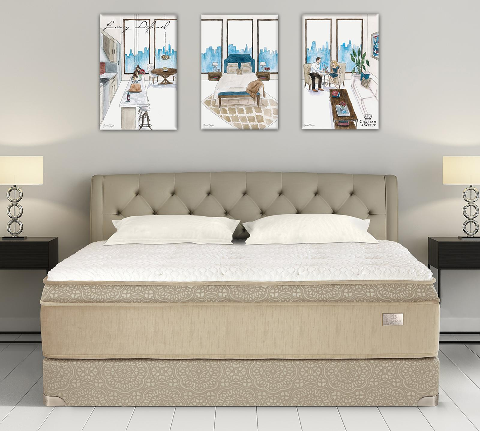 "The Daniella Euro Top mattress is the perfect combination of performance and comfort, on top of the 720 fabric-encased samson coil, this mattress features 788 lo-pro wrapped coils (aka 4"" fabric encased Foam Encased Coil Unit) that act as an advanced conforming support layer. Designed to relieve stress and pressure points in the body while providing additional postural support."