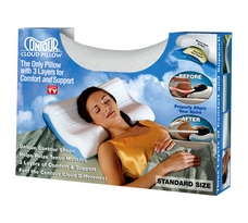 Contour Cloud Pillow