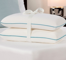 Memory Foam Bed Pillow Twin Pack