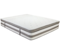 Hampton and Rhodes Aruba 14 Inch Gel Memory Foam Pillow Top Mattress