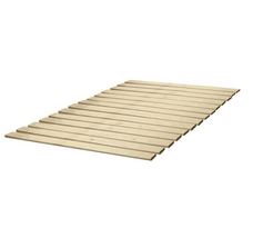 Heavy Duty Attached Solid Wood Bed Support Slats/Bunkie Board