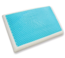 Cool Gel Reversible Gel and Memory Foam Pillow