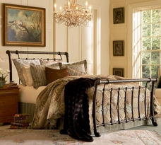 The Legion Sleigh Bed
