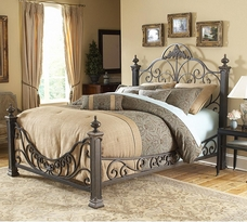 The Baroque Bed