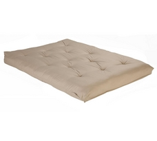 Fashion Bed Group Full Size Foam Khaki Futon Mattress