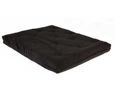 Fashion Bed Group Full Size Innerspring Black Futon Mattress