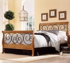 The Dunhill Sleigh Bed