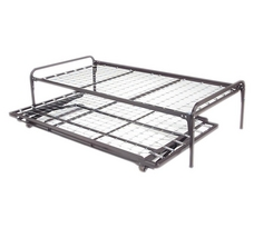 High Riser Bed Frame Set With Trundle