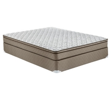 Hampton & Rhodes 7.5 Inch Cushion Firm Euro Top Mattress
