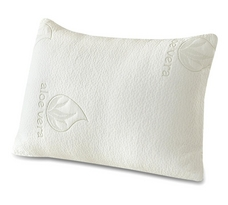Aloe Vera Memory Foam Pillow 2 Pack