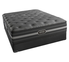 "Simmons Beautyrest Black Mariela 15.75"" Luxury Plush Mattress"
