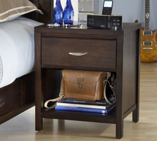 Urban Loft One Drawer Nightstand