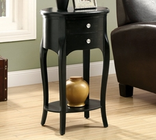 Monarch Distressed Accent Table w/ 2 Drawers