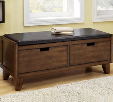 Monarch Bench w/ 2 Drawers
