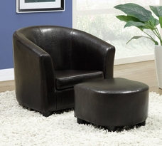 Monarch Juvenile Chair and Ottoman Set