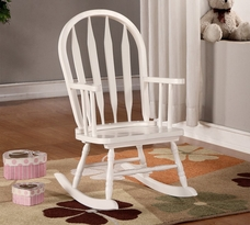 Monarch Arrow Back Juvenile Rocking Chair