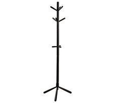 Monarch Contemporary Solid Wood Coat Rack