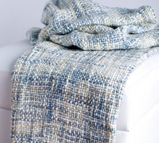 Rizzy Home Classic Loom Woven Acrylic Throw