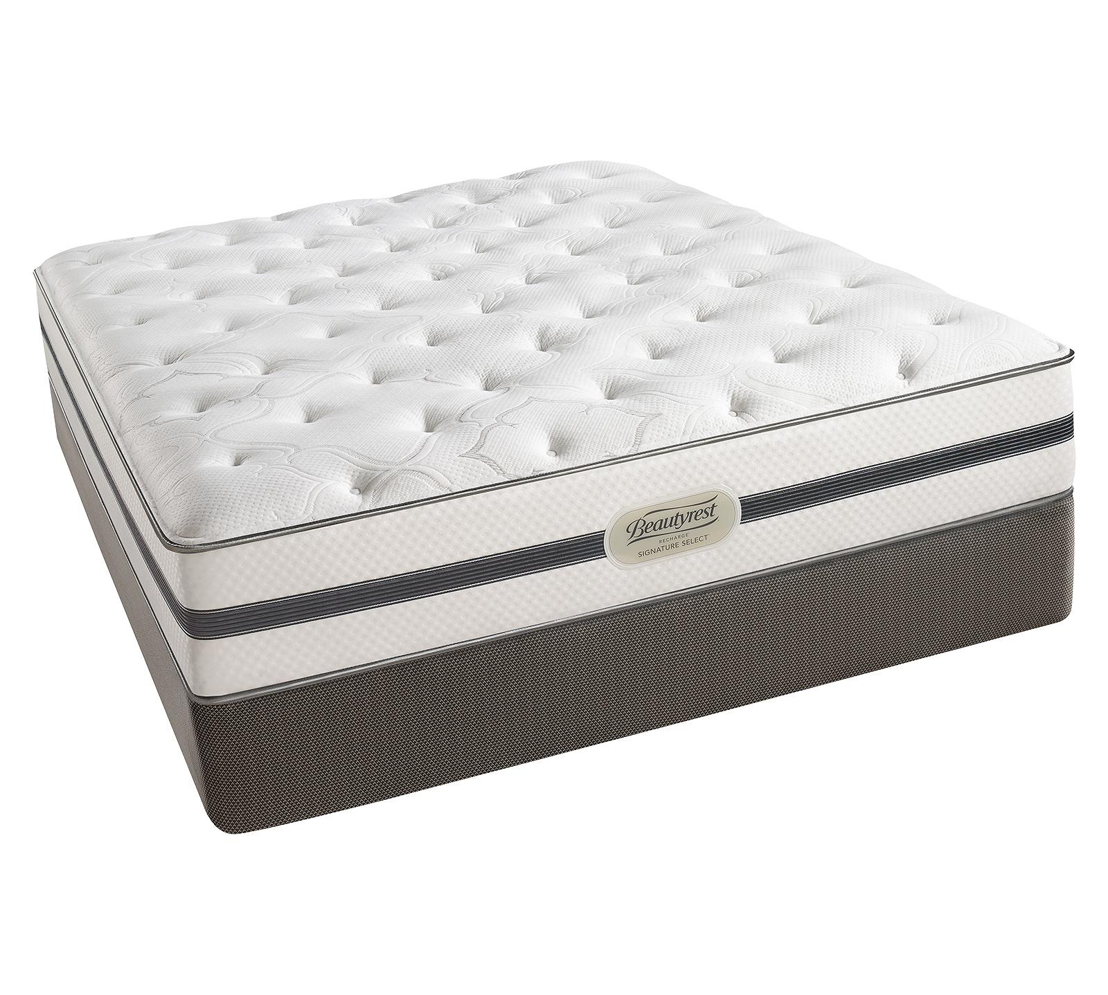beautyrest recharge signature select ashaway plush mattress - Innerspring Mattress