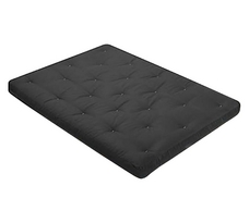 Serta Cyrus 8 Inch Black Futon Mattress Only