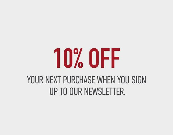 10% Off Next Purchase - Find Out More