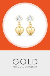 9CT Gold Jewellery - Shop Now