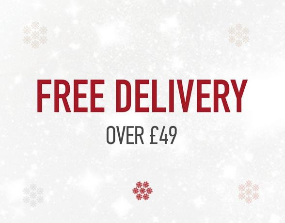 Free Delivery Over £49 - Find Out More
