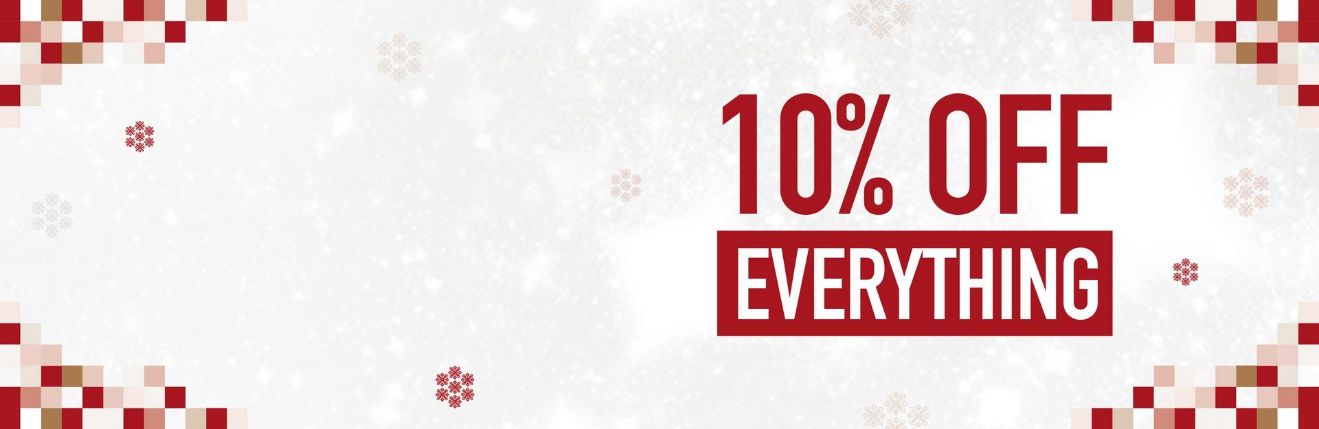 10% Off Everything - Ends Saturday - Shop Now