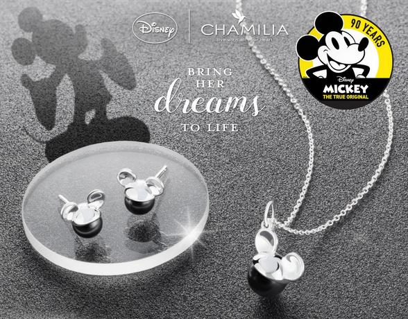 Chamilia Disney Sterling Silver Jewellery - Shop Now