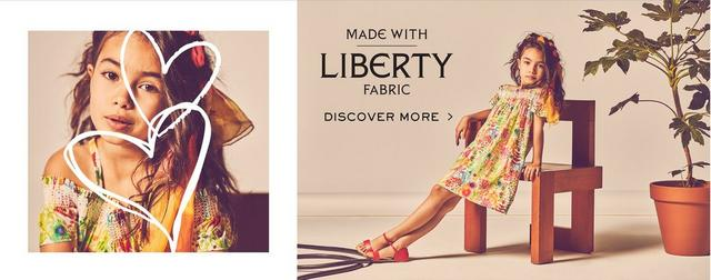 Made with Liberty fabric | Discover more