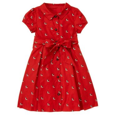 Winter Red Boston Terrier Dog Dress at JanieandJack