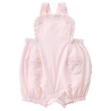 Butterfly Pink Stripe Dobby Stripe Shortall at JanieandJack