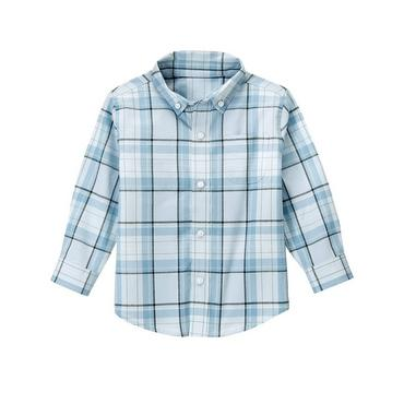 Cashmere Blue Plaid Plaid Dress Shirt at JanieandJack