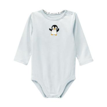 Ice Blue Penguin Bodysuit at JanieandJack