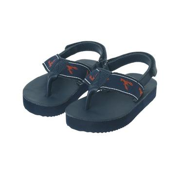 Classic Navy Lobster Thong Sandal at JanieandJack