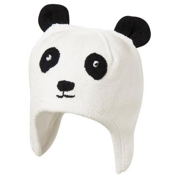 Jet Ivory Panda Sweater Hat at JanieandJack