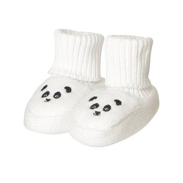 Jet Ivory Panda Sweater Bootie at JanieandJack