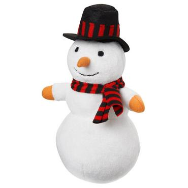 Pure White Snowman Plush Toy at JanieandJack