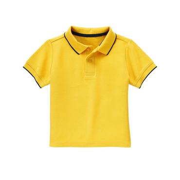 Sailboat Yellow Polo Shirt at JanieandJack