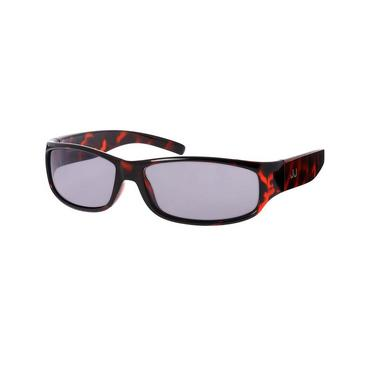 Boys Brown Tortoiseshell Rectangular Sunglasses at JanieandJack