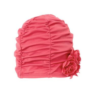 Wild Rose Rosette Swim Hat at JanieandJack