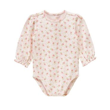 Rose Rose Floral Bodysuit at JanieandJack