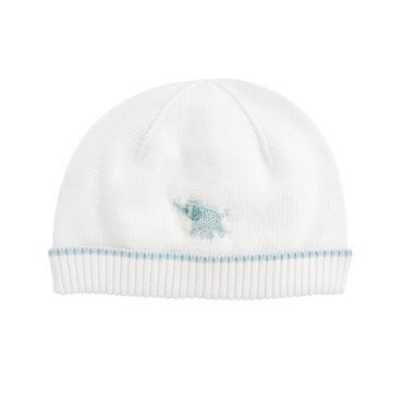 Pure White Elephant Sweater Hat at JanieandJack