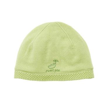 Pale Green Sweet Pea Sweater Hat at JanieandJack
