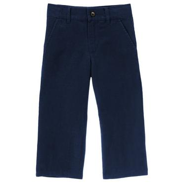 Boys Classic Navy Linen Blend Pant at JanieandJack