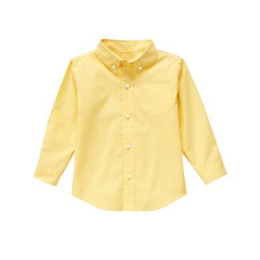 Sunshine Yellow Dress Shirt at JanieandJack