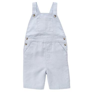 Spring Blue Linen Shortall at JanieandJack