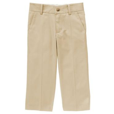 Boys Classic Khaki Khaki Suit Trouser at JanieandJack
