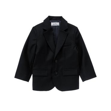 Classic Navy Wool Suit Blazer at JanieandJack